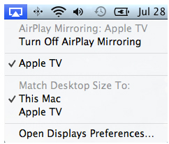 Apple TV Size