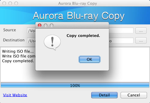 Copy Blu-ray to ISO Image on Mac with Free Mac Blu-ray Copy