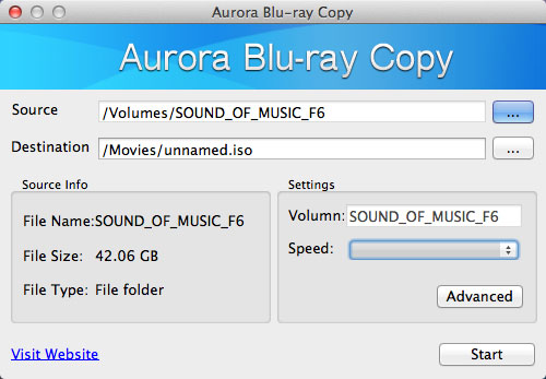 Copy protected Blu-ray on Mac