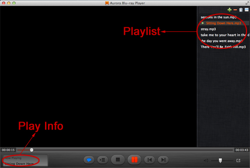 Mac Audio Player