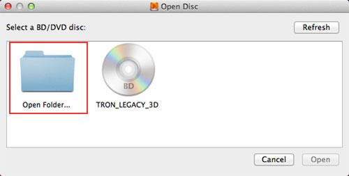 Open Folder