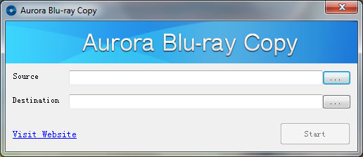 Aurora Blu-ray Copy screenshot
