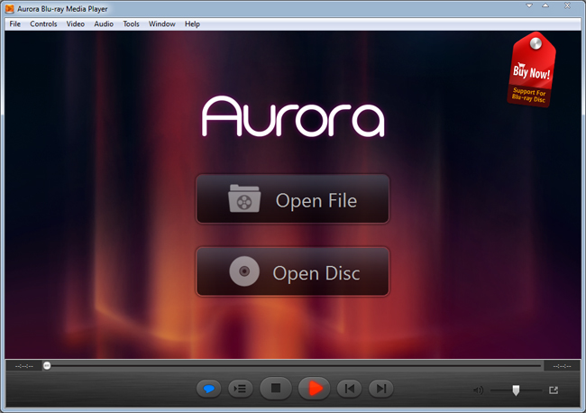 Click to view Aurora Blu-ray Media Player screenshots